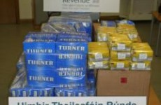Revenue seizes 110kg of roll-your-own tobacco