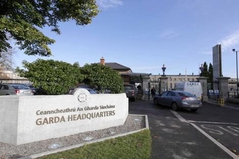 Garda headquarters (File photo)