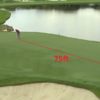 Graeme McDowell made this 75-foot putt for eagle yesterday