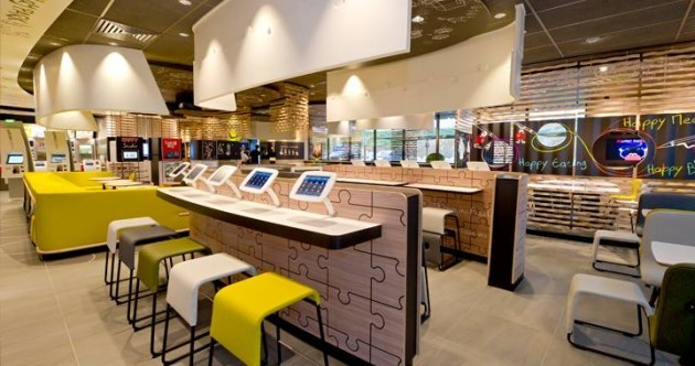 New high-tech McDonald's in Kilkenny has tablets and self order kiosks