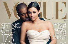 No way Twitter is letting Vogue away with the Kim and Kanye cover