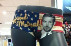 Penneys are now selling Ryan Gosling knickers