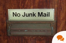 The Secret Candidate: Here's why 'no junk mail' signs are my absolute pet hate