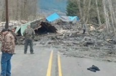 Six-month-old baby rescued after homes destroyed in landslide