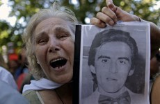 Former army officers sentenced to life for massacre in Argentina's Dirty War