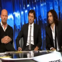 VIDEO: Russell Brand discusses his love of football, becoming a Match of the Day pundit