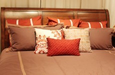 The Burning Question*: Are extra cushions on the bed pretty - or pointless?