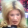 German sideline reporter hit on the head by football... again