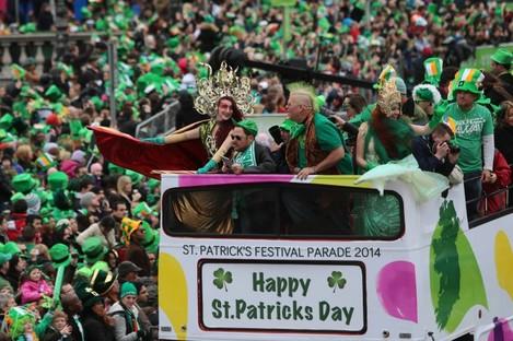 St Patrick's Day in Dublin last week