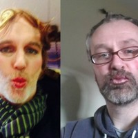 Daithi O'Se and Ray D'Arcy post 'ready for Coppers' make-up selfies