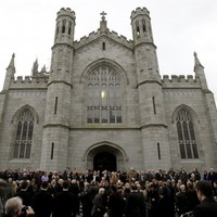 """""""Tremendous loss..."""": Politicians North & South pay respects as Edward Haughey laid to rest"""