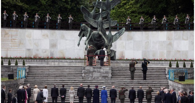 Twenty-one arrests in city centre as Queen visits Garden of Remembrance