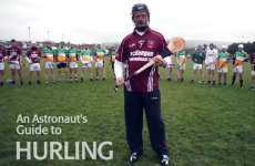 Commander Chris Hadfield presents 'An Astronaut's Guide to Hurling'