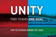 'Two teams, one goal - stop the Scousers': Check out this ad for the Manchester derby