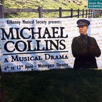 Seven life-sized roadside posters of Michael Collins stolen in Kilkenny