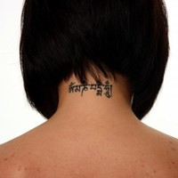 Have a neck tattoo? Did you know you're barred from joining the Defence Forces?