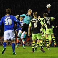 Leicester goalkeeper Kasper Schmeichel emulates father, Peter, with last minute goal