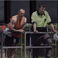 Watch builders shout unexpectedly lovely comments at women