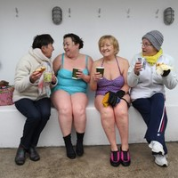 PICS: Here's the new unisex bathing area at the Forty Foot