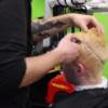 This Dublin man's hair really does look like a pineapple