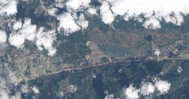 NASA satellite captures photo of Washington mudslide