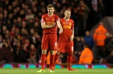 Stevie G breaks the deadlock for Liverpool with stunning free-kick
