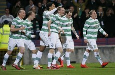Stokes leads the way as five-goal Celtic win 45th Scottish title
