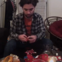 Man literally eats his hat after losing online bet