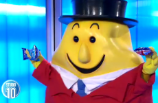 Mr Tayto's stumbling Australian television debut is magnificent