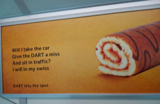 Irish Rail's cheeky new DART ad is very clever
