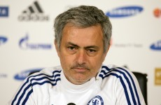Mourinho will blame ref if Chelsea fail in title bid