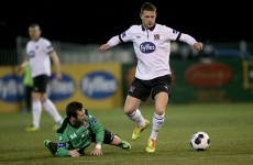 Honours even as Dundalk's winning streak comes to an end