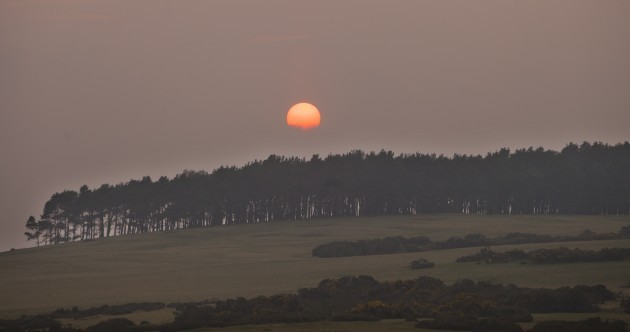 Did you see tonight's sunset? Here it is in Kildare