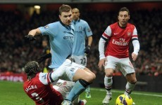 5 talking points ahead of today's key Arsenal-Man City game
