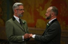 First gay marriage takes place in England and Wales