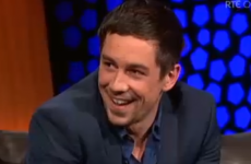 Love/Hate's Killian Scott was on the Late Late talking about fizzy orange