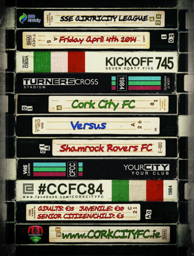 Brilliant poster sets the scene for Cork City's top-of-the-table clash with Shamrock Rovers