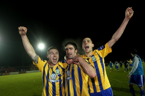 Bray hope to celebrate more success with their new structure.