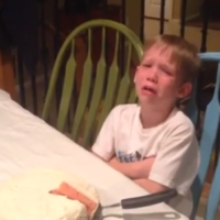 This little boy's reaction to getting another sister is priceless