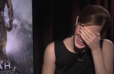 Emma Watson's surprise interview with a superfan reporter gets seriously awkward