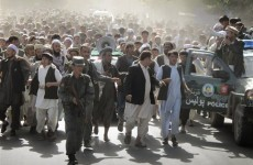 Afghan rally against NATO raid turns violent - 11 dead