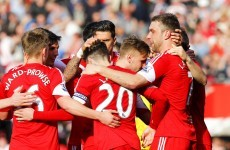 Adam Lallana scores thunderbolt as Saints top Toon