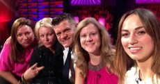 Here's the Saturday Night Show's celebrity #nomakeupselfie