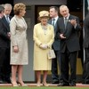 Hallowed ground: Queen Elizabeth II visits Croke Park on historic day for GAA