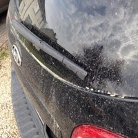 Lots of people woke up to find their car covered in sand this morning