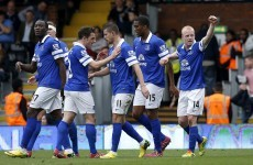 McGeady comes on to make a difference, as Everton gain important win over Fulham