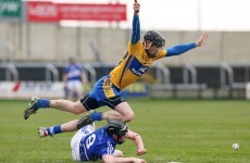 Clare power on despite battling effort from 14-man Laois