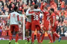 Liverpool outclass Tottenham to go top, Everton close on Arsenal
