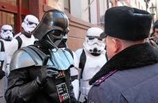 Darth Vader is running for president of Ukraine...