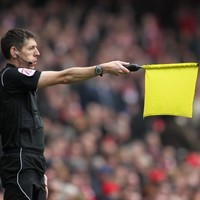 We're used to fans questioning referee's eyesight but this is ridiculous